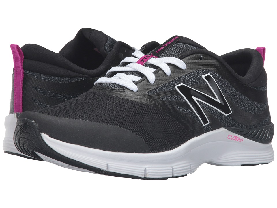 New Balance - WX713 (Black/White) Women's Cross Training Shoes