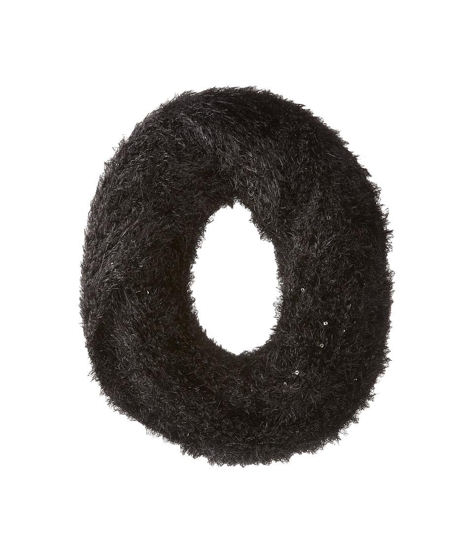 Betsey Johnson - Inside Sparkes Snood Twist (Black) Scarves