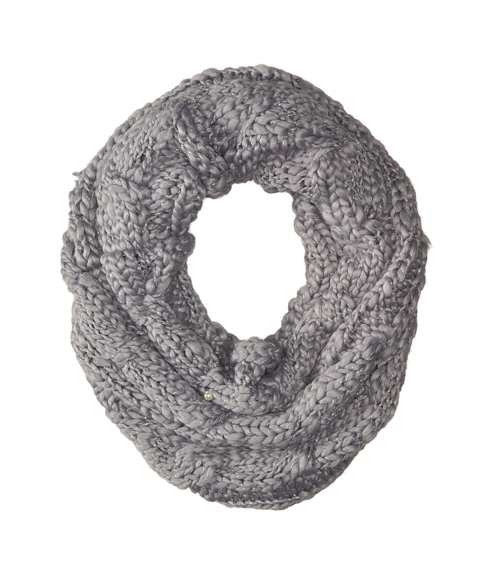 Betsey Johnson - Pearly Girl Snood (Grey) Caps