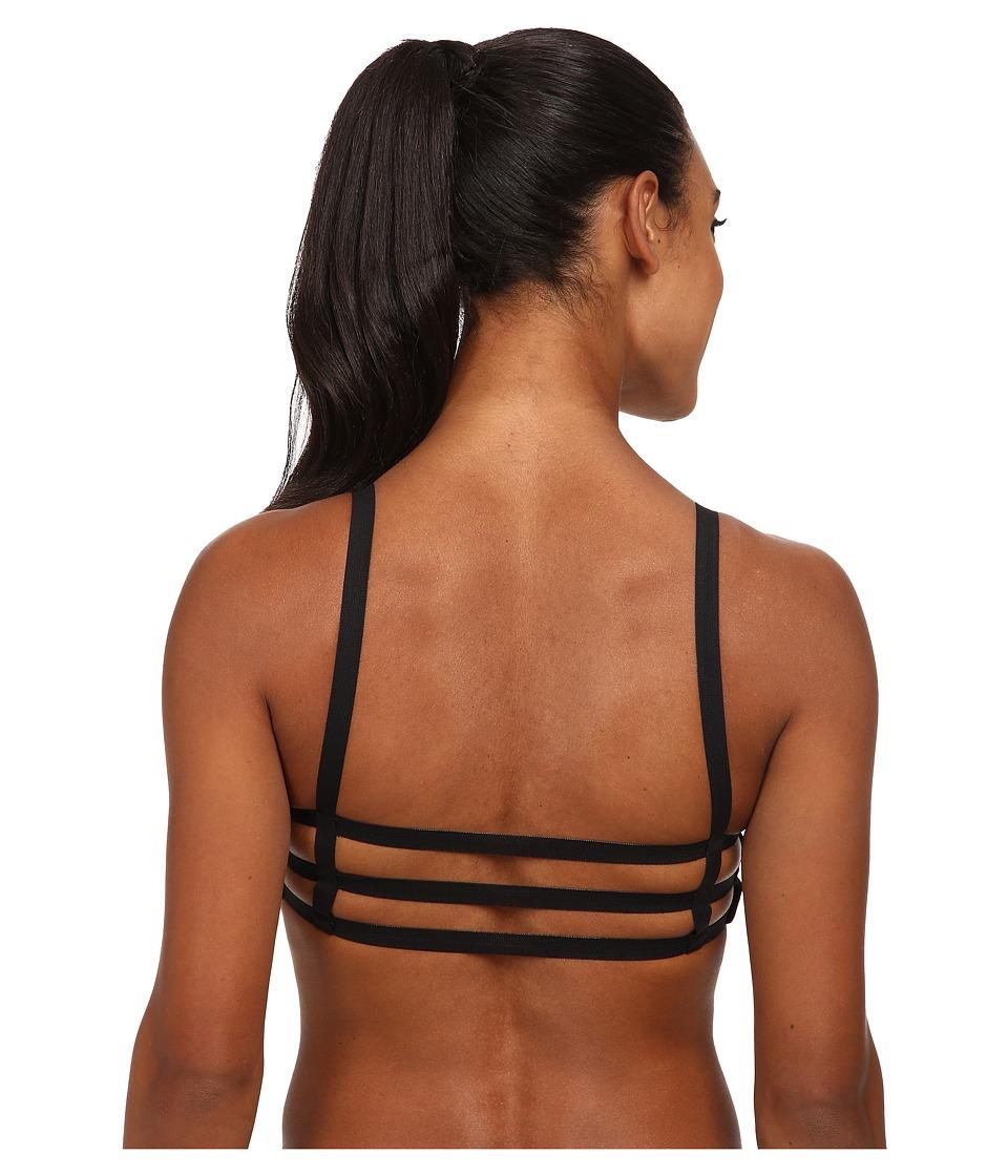 Onzie - Elastic Bra Top (Black/Black) Women
