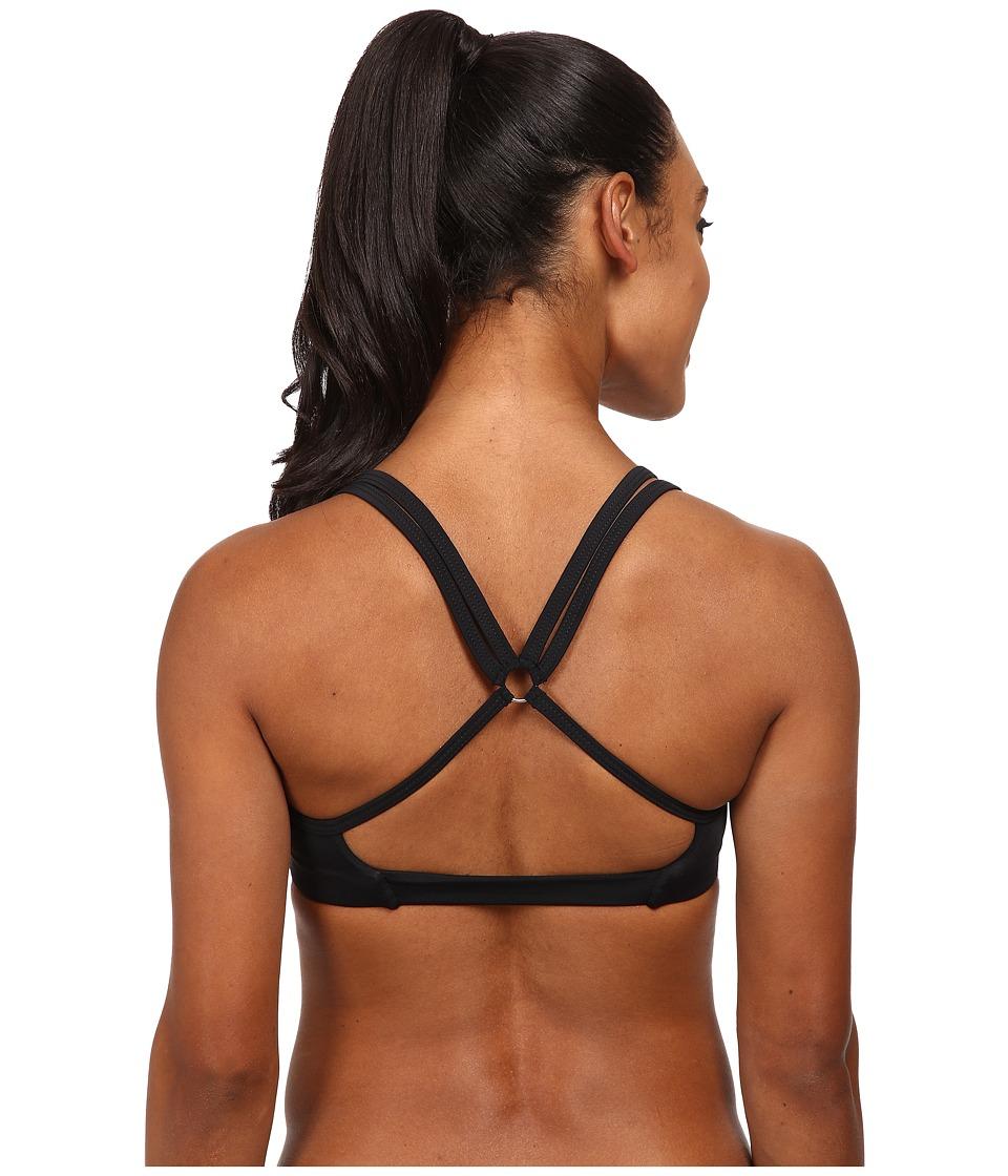 Onzie - Circle Bra Top (Black) Women's Clothing