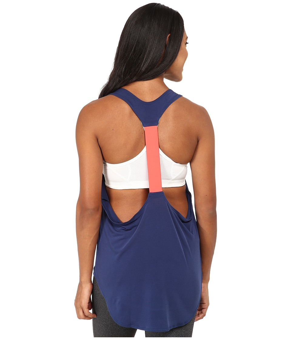 Onzie - Elastic Back Tank Top (Navy/Rose) Women