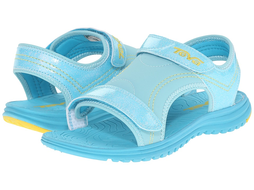 Teva Kids - Psyclone 6 (Little Kid/Big Kid) (Turquoise Glitter) Girls Shoes