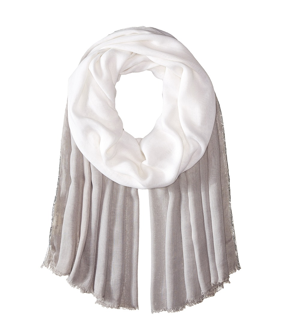 Michael Stars - Dipped and Shimmer Wrap (Cinder) Scarves
