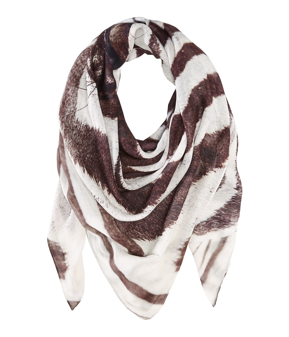 Michael Stars - Show Me Your Stripes Zebra Wrap (Black) Scarves