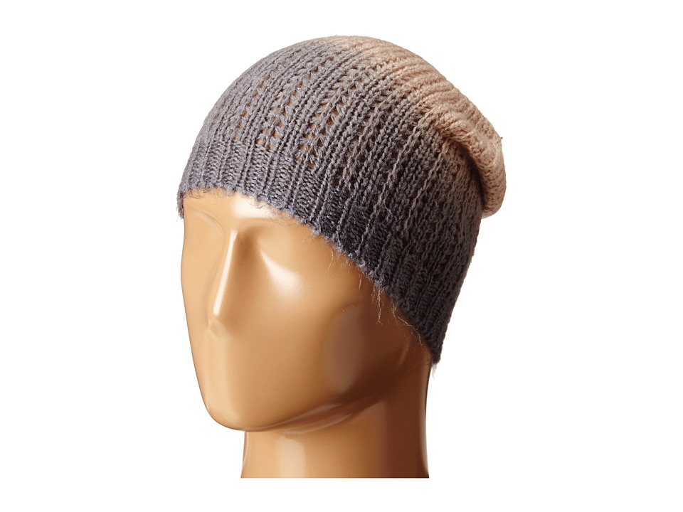 Michael Stars - Laced Knit Ombre Slouch Hat (Chantilly) Beanies