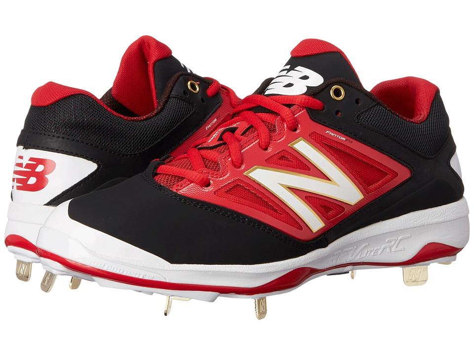 New Balance - 4040v3 Low (Black/Red) Men's Shoes