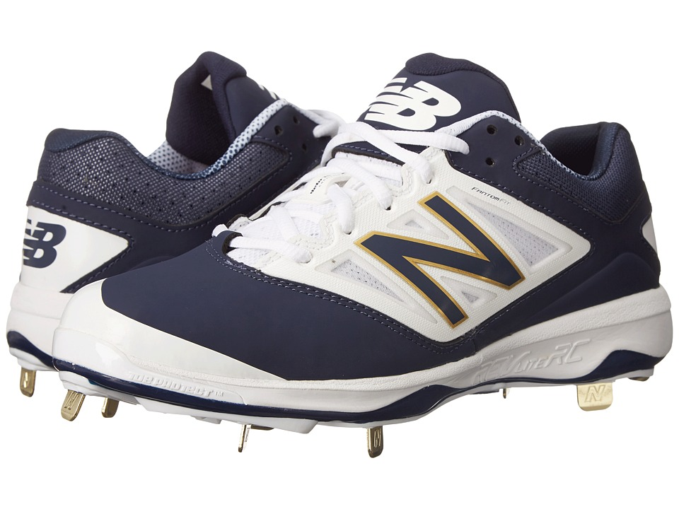 New Balance - 4040v3 Low (Navy/White) Men's Shoes