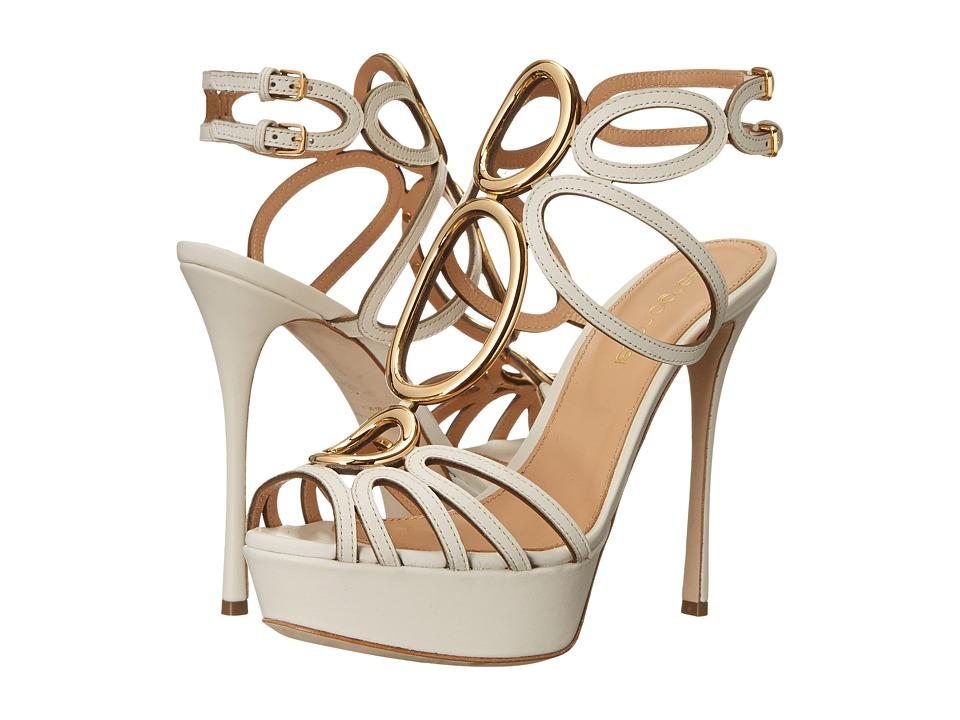 Sergio Rossi Farrah (White) High Heels