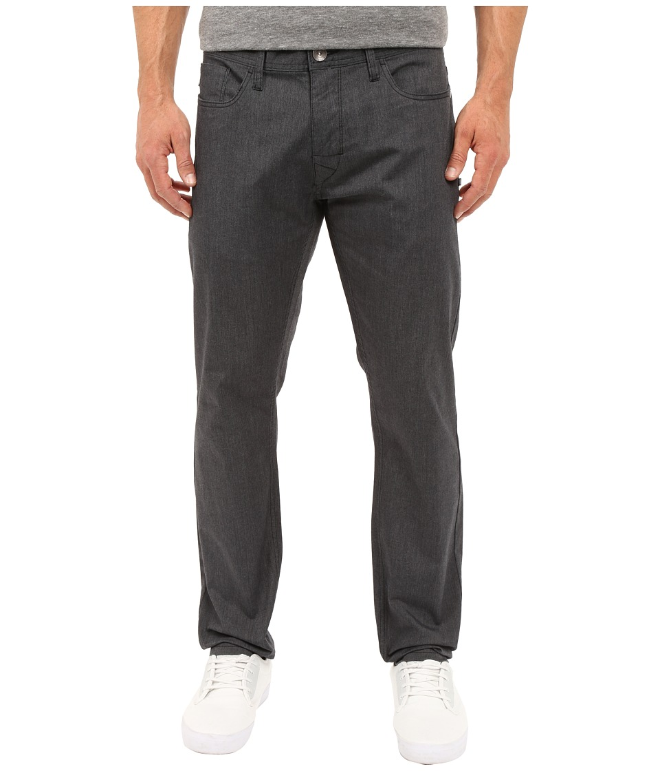 Oakley - 50's Melange Stretch Twill Pants (Jet Black Heather) Men's Casual Pants