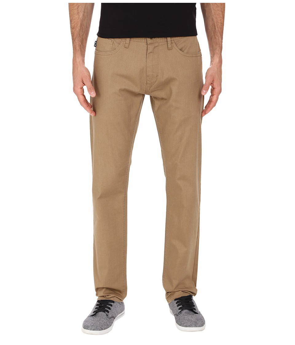 Oakley - 50's Melange Stretch Twill Pants (New Khaki Dark Heather) Men's Casual Pants