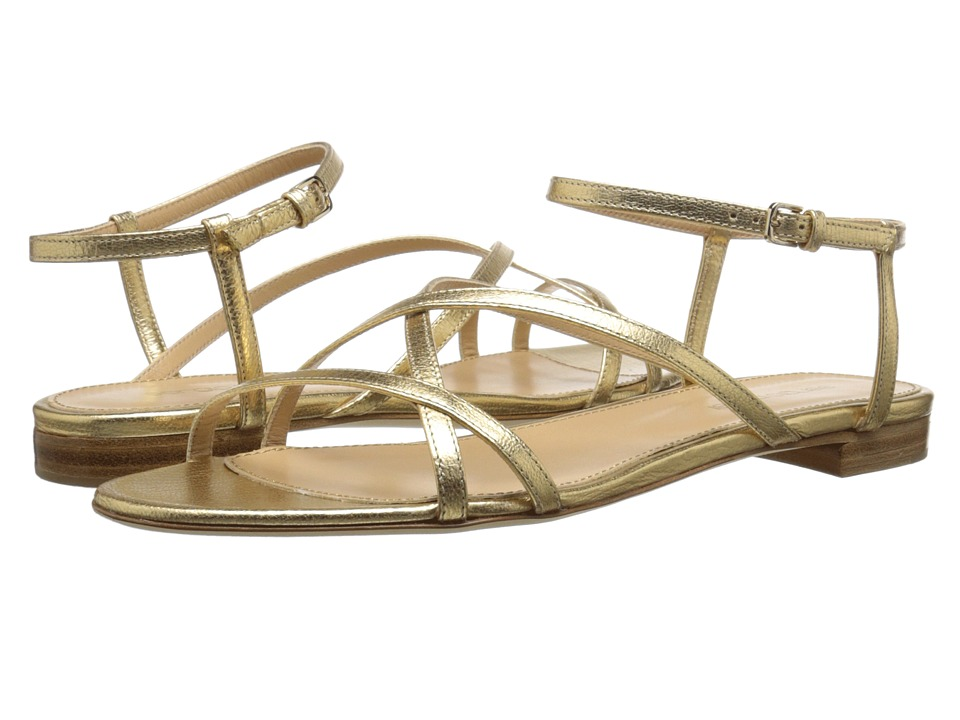 Sergio Rossi - Bonton (Gold) Women's Sandals