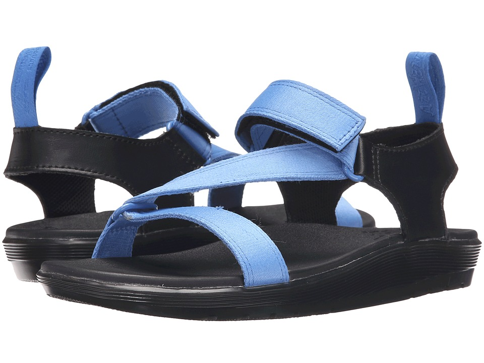 Dr. Martens - Balfour Z-Strap Sandal (Denim Blue/Black Webbing) Women's Sandals