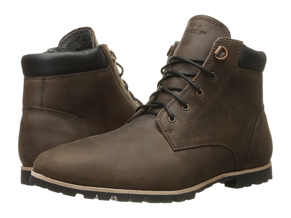 Woolrich - Beebe (Bitter Chocolate Leather) Men's Boots