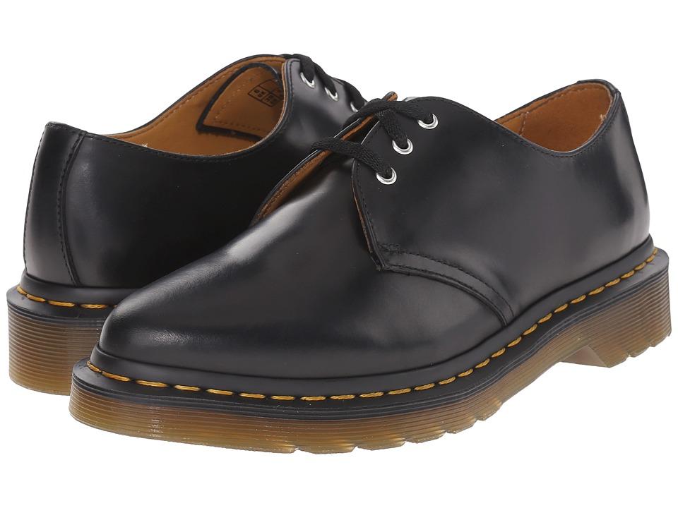 Dr. Martens Dupree 3-Eye Shoe (Black/Polished Finoli) Women
