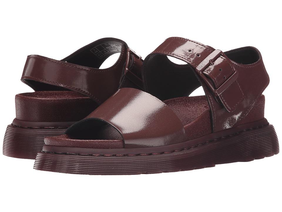 Dr. Martens - Romi Y Strap Sandal (Oxblood/Petrol) Women's Sandals