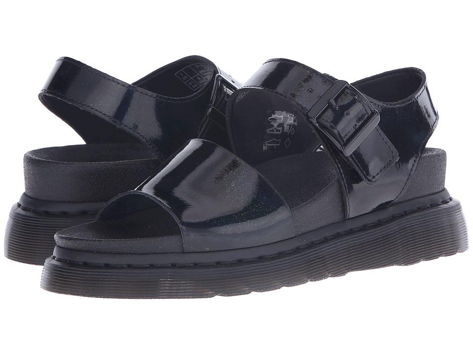 Dr. Martens - Romi Y Strap Sandal (Black/Petrol) Women's Sandals