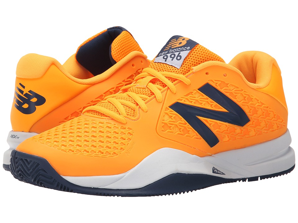 New Balance - MC996v2 (Orange/Grey) Men's Tennis Shoes
