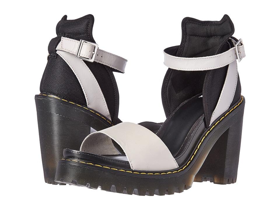 Dr. Martens - Medea Minimal Sandal (Soft Grey Black/Danio/Mesh) High Heels