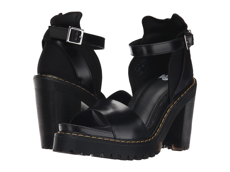 Dr. Martens - Medea Minimal Sandal (Black/Buttero/Mesh) High Heels