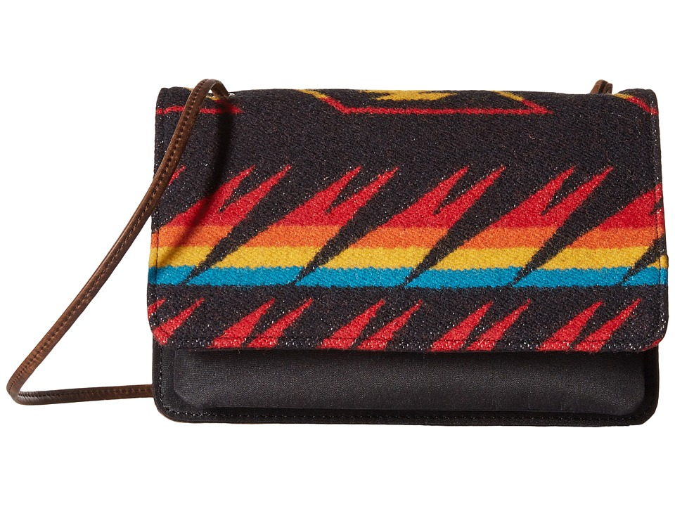 Pendleton - Slim Wallet w/ Strap (Arrow Path Black) Bi-fold Wallet