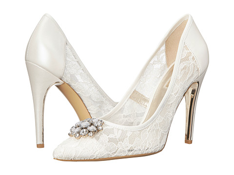 GUESS - Beccy (White Lace) High Heels
