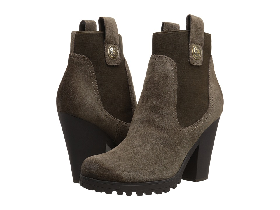 GUESS - Cariss (Brown Suede) Women