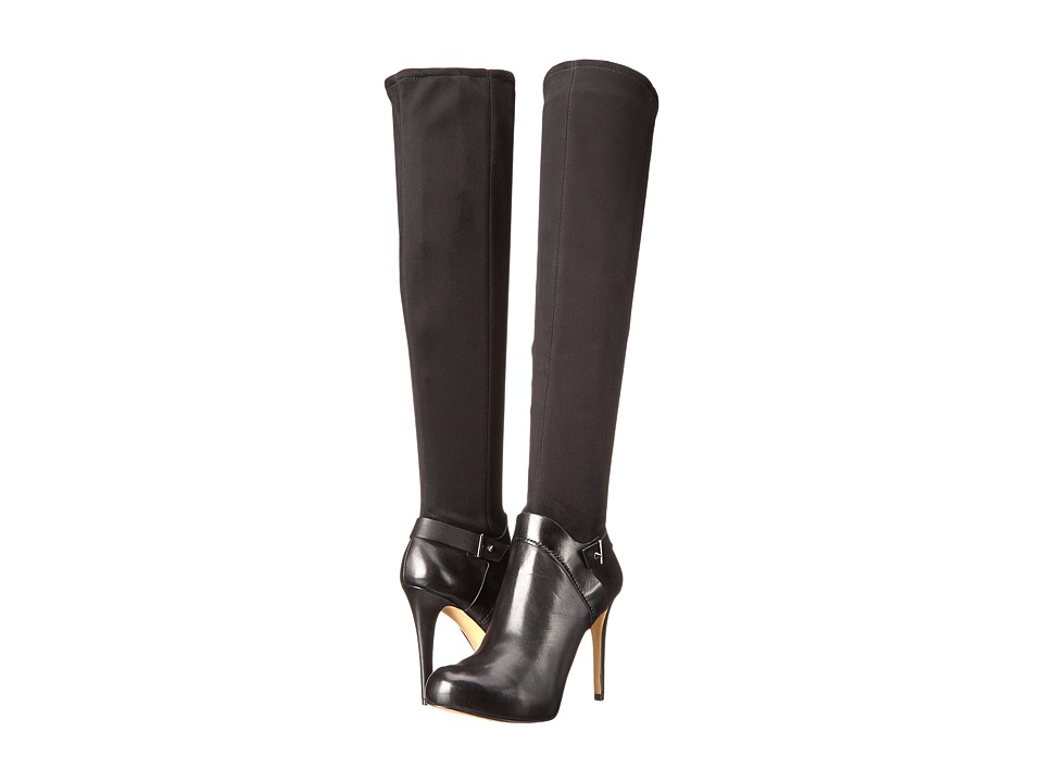 GUESS - Elka (Black Synthetic) Women's Dress Boots