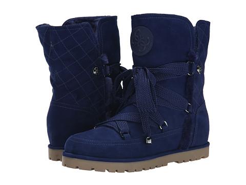 GUESS - Fallon (Blue Leather) Women