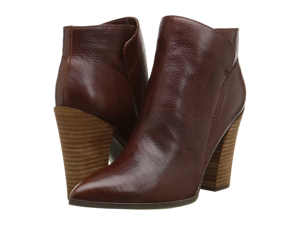 GUESS - Hardey (Brown Leather) Women
