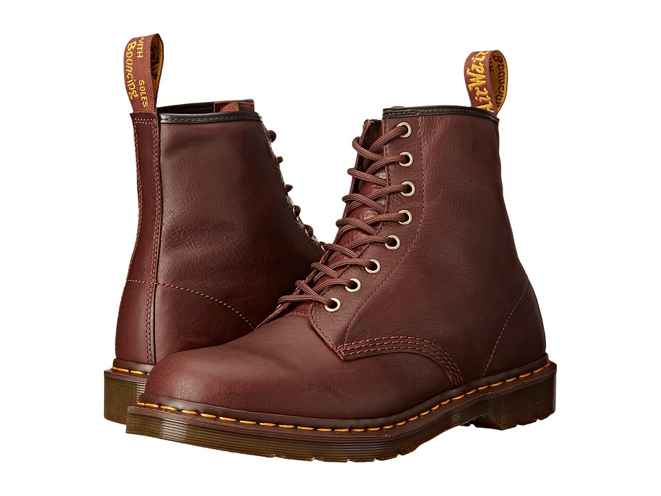 Dr. Martens - 1460 8-Eye Boot Soft Leather (Tan Carpathian) Men's Lace-up Boots