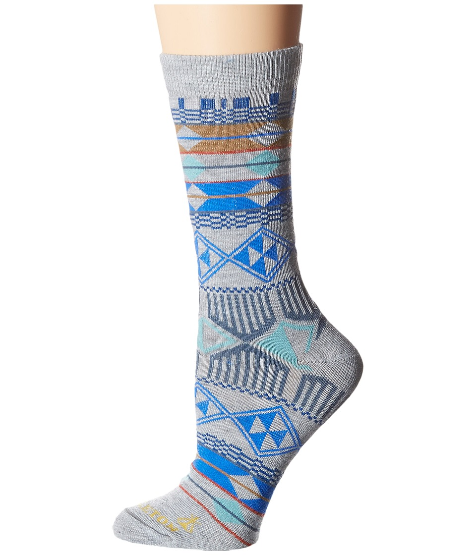 Pendleton - Southern Highlands Crew Socks (Light Grey) Women's Crew Cut Socks Shoes
