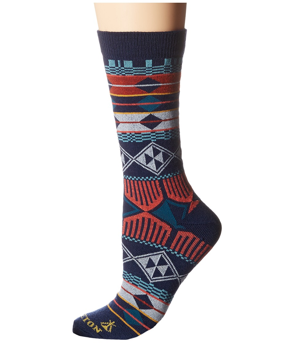 Pendleton - Southern Highlands Crew Socks (Navy) Women's Crew Cut Socks Shoes