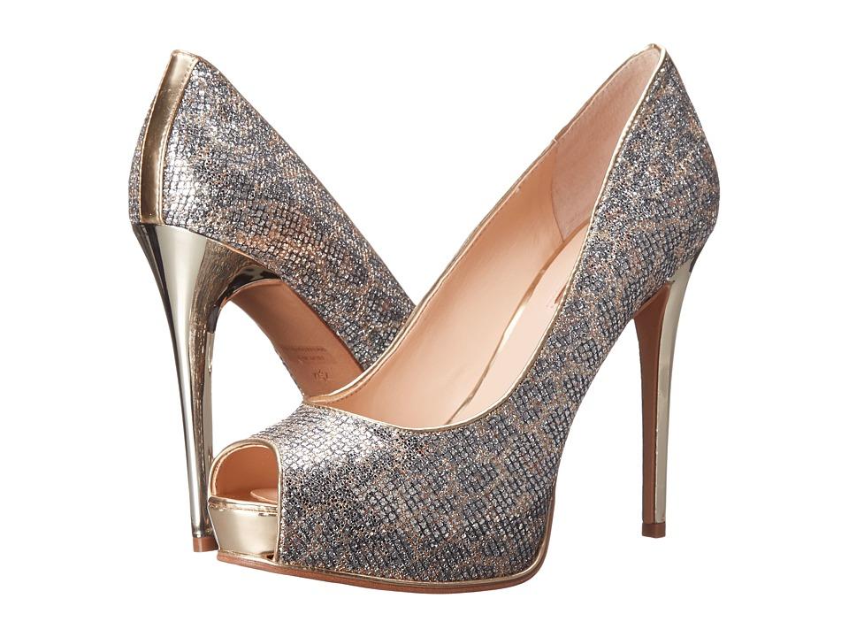 GUESS - Honoran 2 (Natural Multi Fabric) High Heels