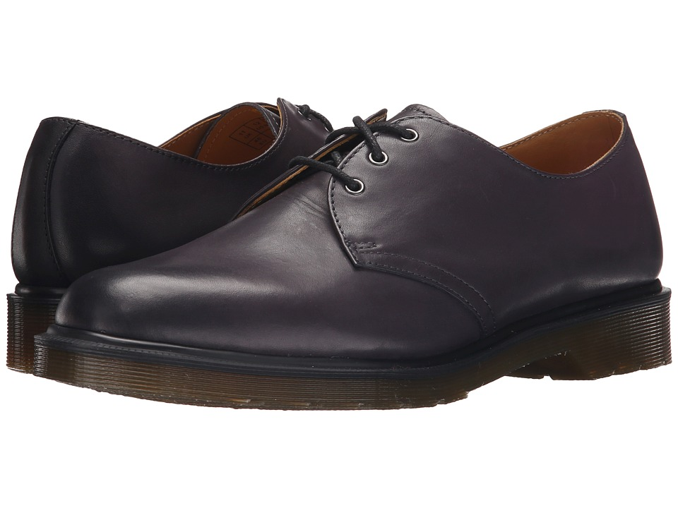 Dr. Martens 1461 3-Eye Shoe (Charcoal Temperley) Men