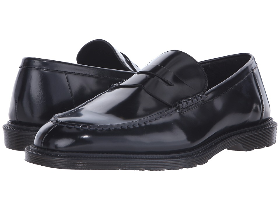 Dr. Martens - Penton Bar Loafer (Black Temperley) Men's Slip on Shoes