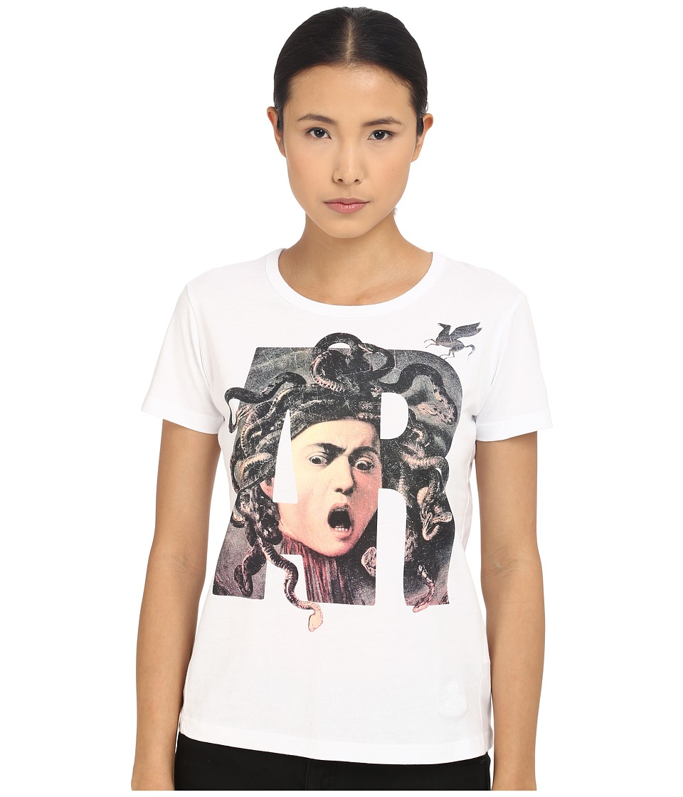 Vivienne Westwood - Medusa T-Shirt (Optical White) Women's T Shirt