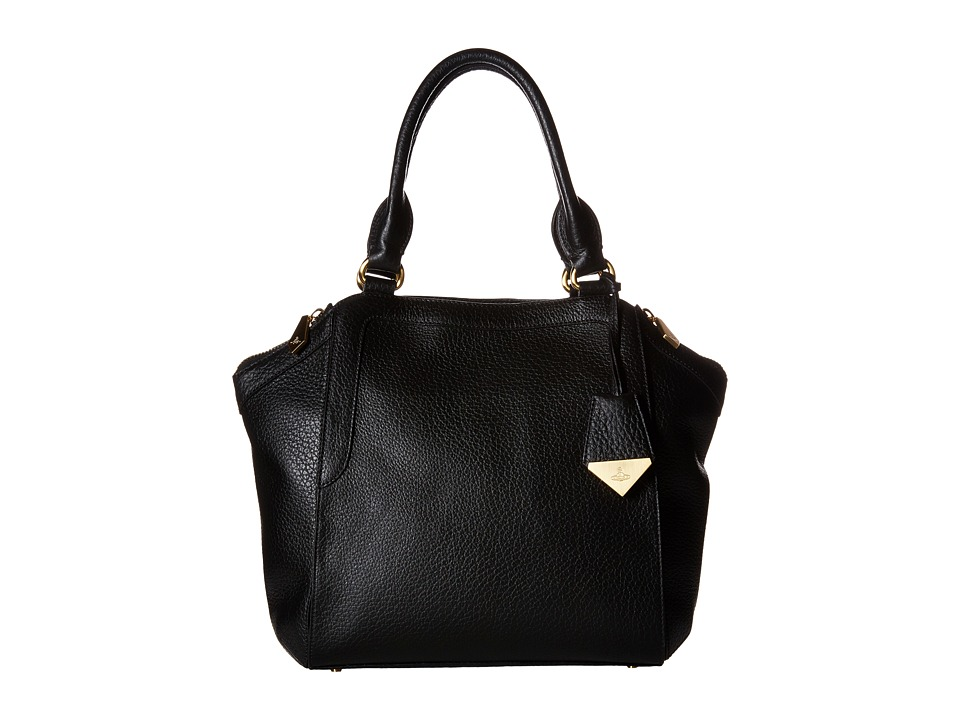 Vivienne Westwood - Kensington (Black) Satchel Handbags