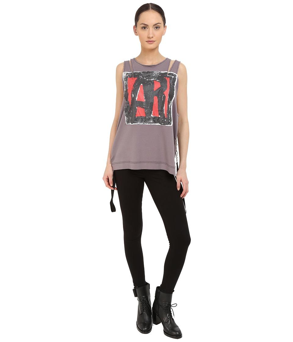 Vivienne Westwood - Active Resistance Albertine Top (Mauve) Women's Clothing