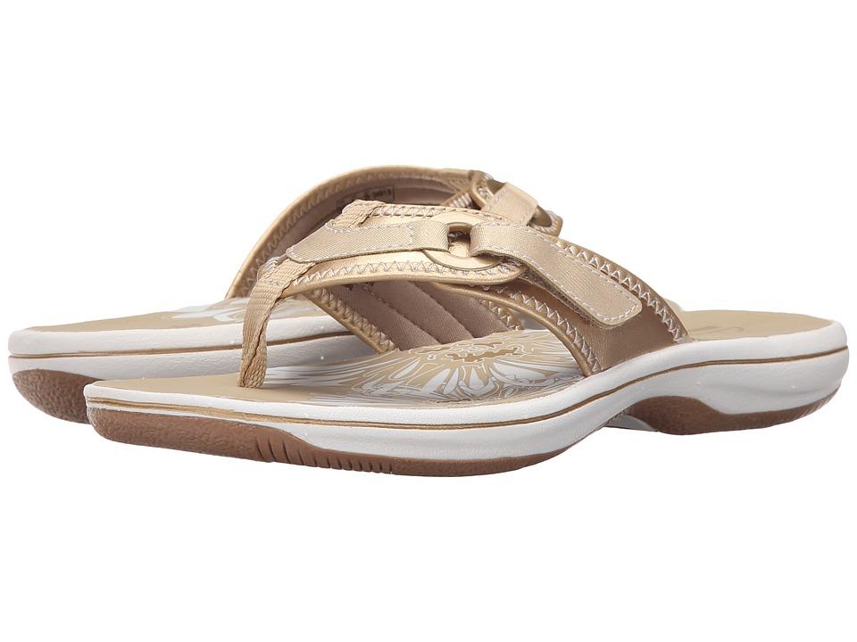 Clarks - Breeze Mila (Gold 2) Women's Shoes