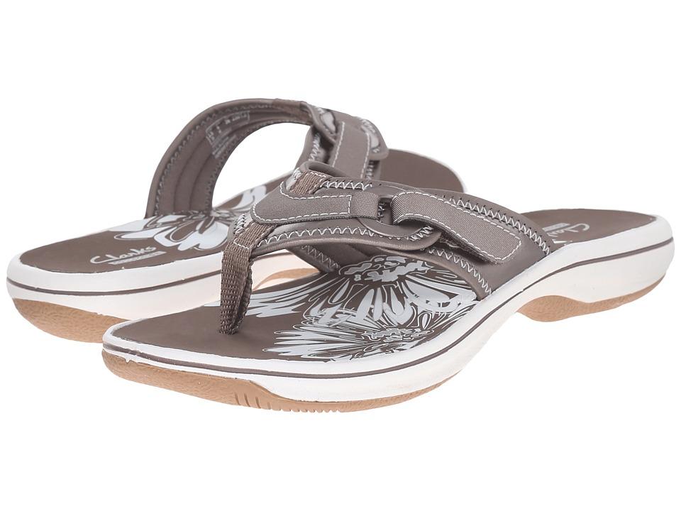 Clarks - Breeze Mila (Pewter) Women's Shoes