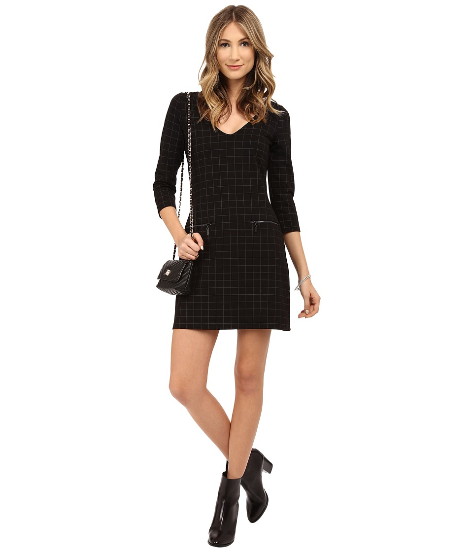 Sanctuary - Essential En Vogue Dress (Windowpane) Women's Dress