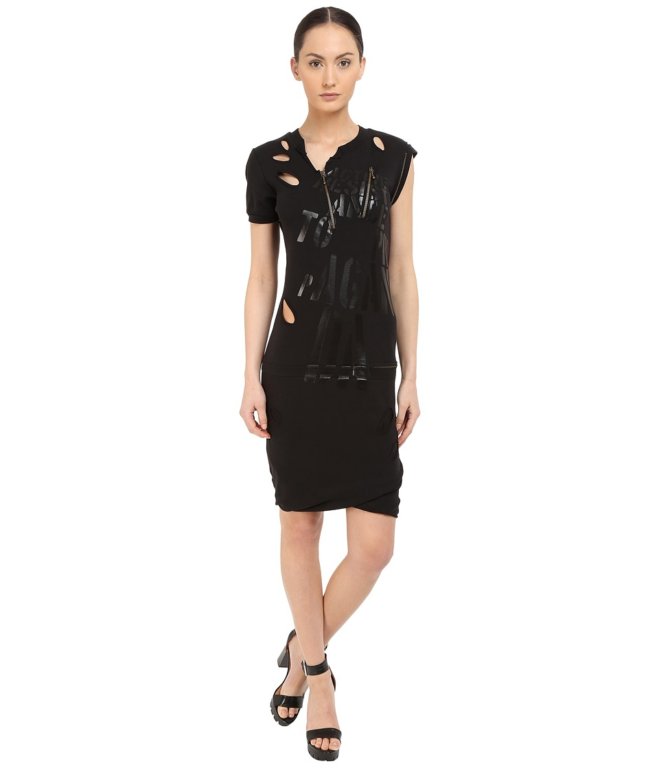 Vivienne Westwood - Active Resistance Punk Dress (Black) Women's Dress