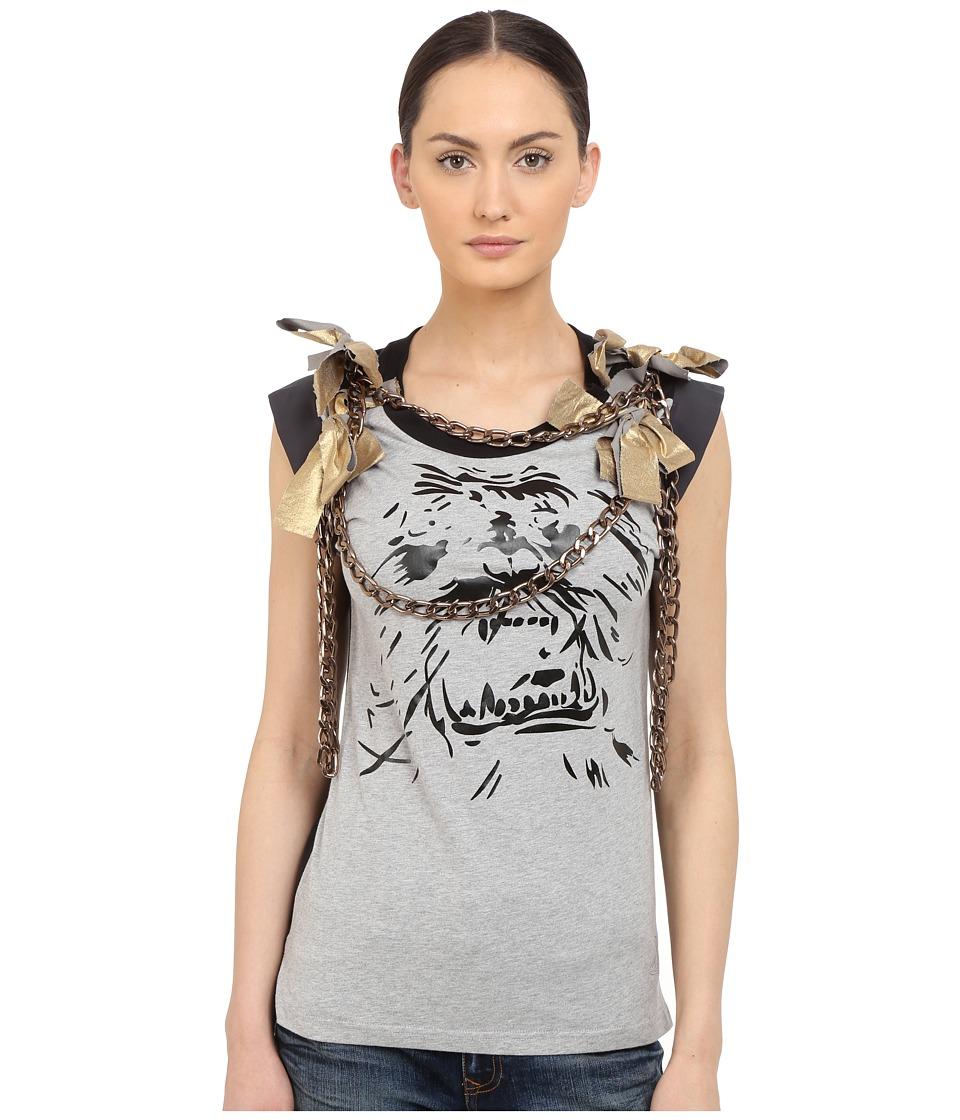 Vivienne Westwood - Yeti Chain T-Shirt (Grey Melange) Women's T Shirt