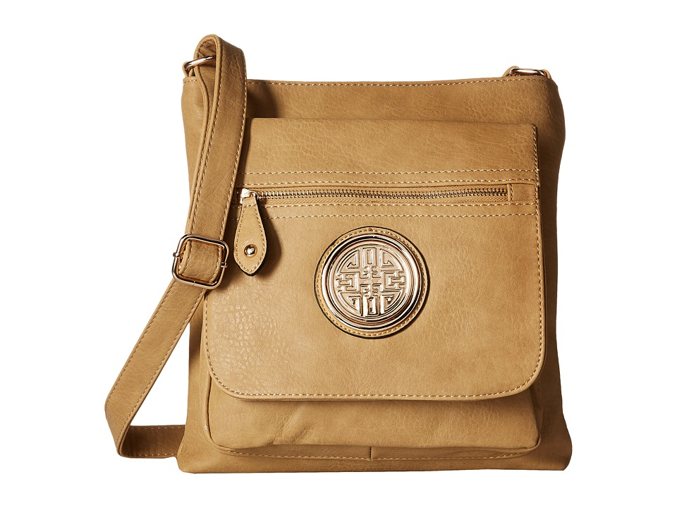 Gabriella Rocha - Minnie Crossbody Bag (Beige) Cross Body Handbags