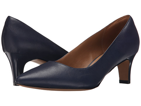 Clarks - Crewso Wick (Navy) Women's Shoes