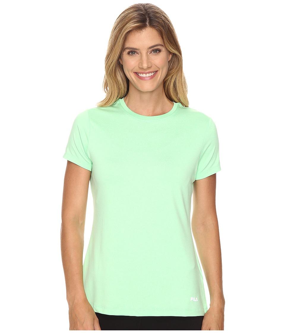 Fila - Heather Crew Neck Tee (Apple Chew Heather) Women's T Shirt