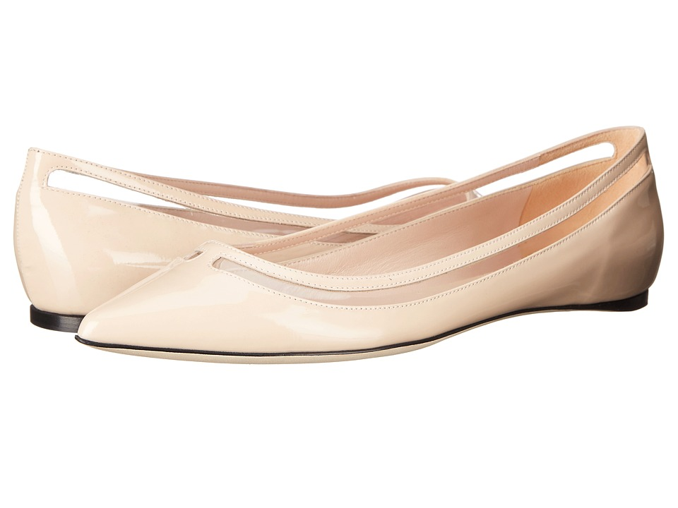 Furla - Regina Skimmer (Magnolia/Trasparente) Women's Flat Shoes
