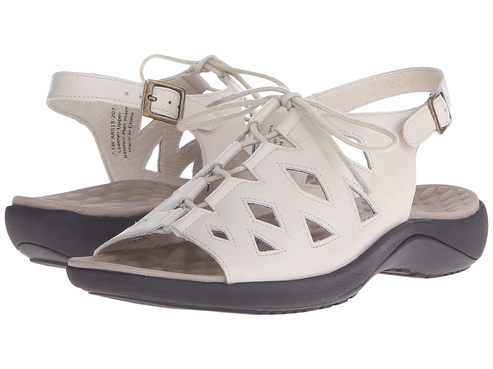 David Tate - Dallas (Dallas Bone) Women's Sandals