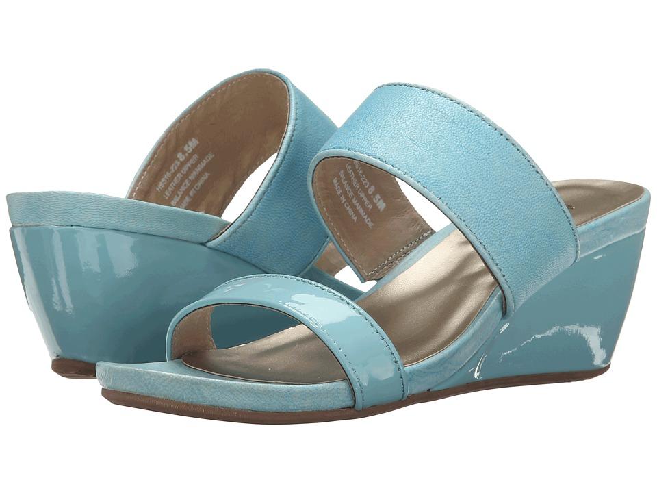 David Tate - Charlotte (Blue) Women's Sandals